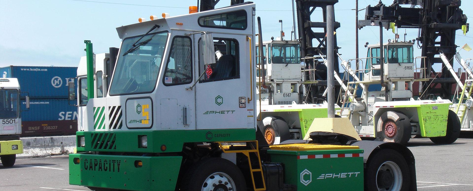 PHETT - Pluggable Hybrid Electric Terminal Tractor